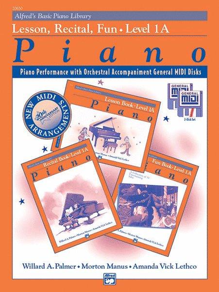 Alfred's Basic Piano Library: GM Disk -- Lesson, Recital & Fun Books,