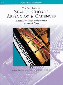 Scales, Chords, Arpeggios & Cadences - First Book (AL-00-11761)