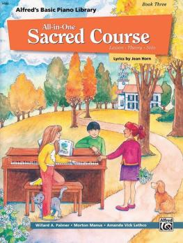 Alfred's Basic All-in-One Sacred Course, Book 3 (Lesson * Theory * Sol (AL-00-14560)