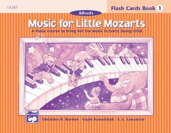 Music for Little Mozarts: Flash Cards, Level 1 (AL-00-14587)