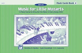 Music for Little Mozarts: Flash Cards, Level 2 (AL-00-14599)