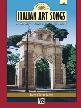 Gateway to Italian Art Songs: An Anthology of Italian Song and Interpr (AL-00-17619)