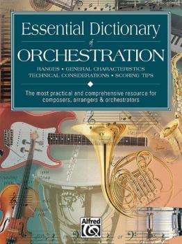 Essential Dictionary of Orchestration (AL-00-17894)