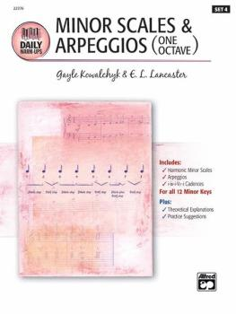 Daily Warm-Ups, Set 4: Minor Scales & Arpeggios One Octave (AL-00-22376)