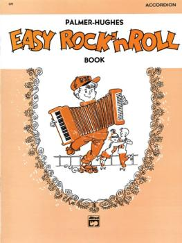 Palmer-Hughes Accordion Course - Easy Rock 'n' Roll Book (AL-00-225)