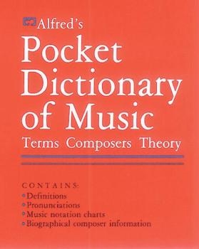 Alfred's Pocket Dictionary of Music (AL-00-2400)