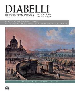 11 Sonatinas, Opp. 151, 168 (AL-00-2419)