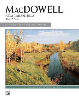 Alla Tarantella, Op. 39, No. 2 (AL-00-2634)