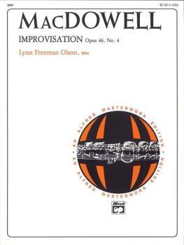 Improvisation, Op. 46, No. 4 (AL-00-2637)