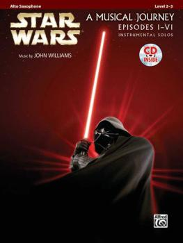 <I>Star Wars</I>® Instrumental Solos (Movies I-VI) (AL-00-32107)
