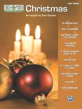 10 for 10 Sheet Music: Christmas (AL-00-33221)