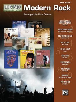 10 for 10 Sheet Music: Modern Rock (AL-00-33223)