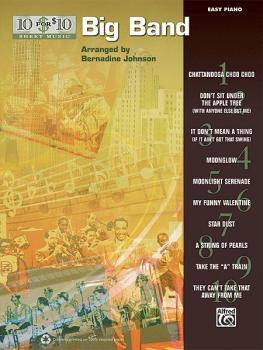 10 for 10 Sheet Music: Big Band (AL-00-36315)