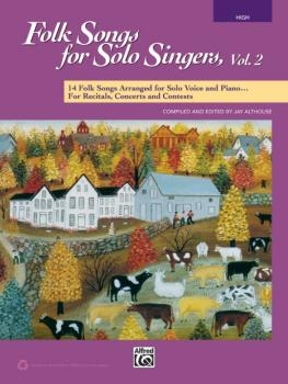 Folk Songs for Solo Singers, Vol. 2: 14 Folk Songs Arranged for Solo V (AL-00-41549)