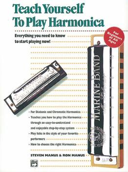 Alfred's Teach Yourself to Play Harmonica: Everything You Need to Know (AL-00-4648)