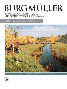12 Brilliant Studies, Op. 105 (AL-00-4828)