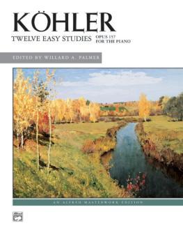 12 Easy Studies, Op. 157 (AL-00-567)