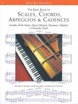 Scales, Chords, Arpeggios & Cadences - Basic Book (AL-00-5754)
