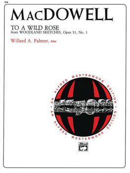 To a Wild Rose, Op. 51, No. 1 (AL-00-876)