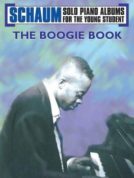 Schaum Solo Piano Album Series: The Boogie Book (AL-00-EL00869A)