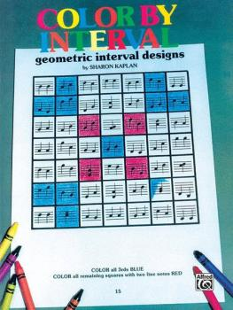 Color by Interval, Book 1: Geometric Interval Designs (AL-00-EL03507)
