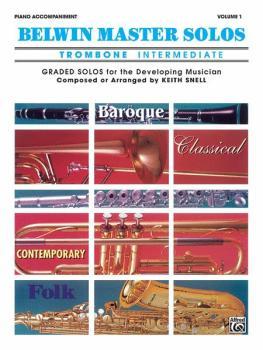 Belwin Master Solos, Volume 1 (Trombone) (AL-00-EL03540)