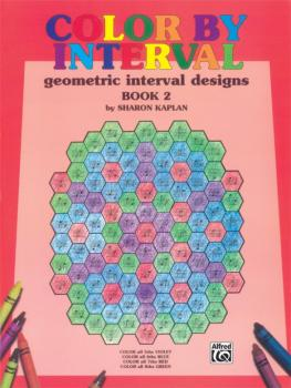Color by Interval, Book 2: Geometric Interval Designs (AL-00-EL9911)
