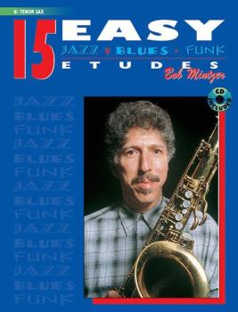 15 Easy Jazz, Blues & Funk Etudes (AL-00-ELM00030CD)