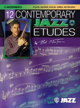 12 Contemporary Jazz Etudes (AL-00-ELM04011)