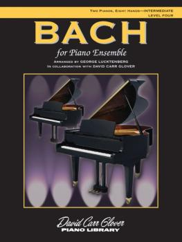 Bach for Piano Ensemble, Level 4 (AL-00-FDL00463A)