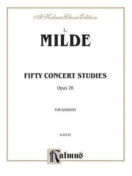 Fifty Concert Studies, Op. 26 (AL-00-K02132)