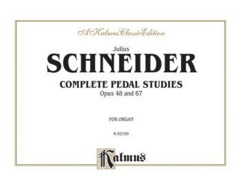 Complete Pedal Studies, Op. 48 and 67 (AL-00-K02190)