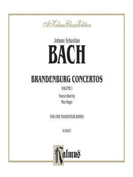 Brandenburg Concertos, Volume I (AL-00-K03027)