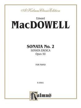 Sonata No. 2, Op. 50 (Sonata Eroica) (AL-00-K03651)