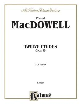 Twelve Etudes, Op. 39 (AL-00-K03659)