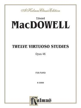Twelve Virtuoso Studies, Op. 46 (AL-00-K03660)