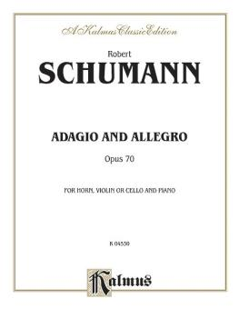 Adagio and Allegro, Op. 70 (AL-00-K04530)