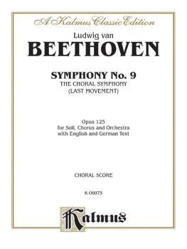 Symphony No. 9 (Choral Movement) (AL-00-K06075)