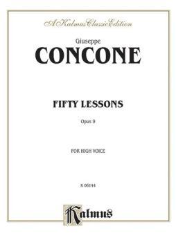 Fifty Lessons, Op. 9 (AL-00-K06144)