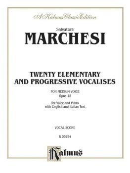 Twenty Elementary and Progressive Vocalises, Opus 15 (AL-00-K06294)