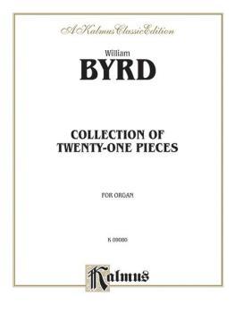 21 Pieces for the Organ (The Byrd Organ Book) (AL-00-K09080)