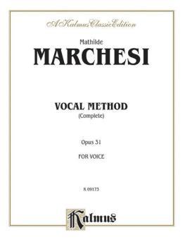 Vocal Method, Op. 31 (Complete) (AL-00-K09173)