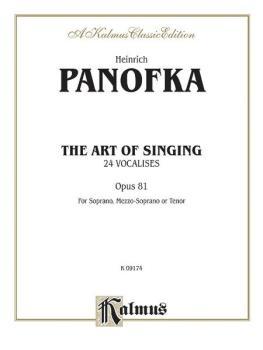 The Art of Singing; 24 Vocalises, Op. 81 (AL-00-K09174)