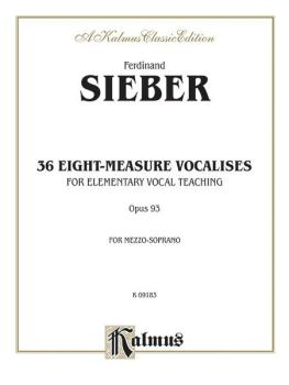 36 Eight-Measure Vocalises for Elementary Teaching (AL-00-K09183)