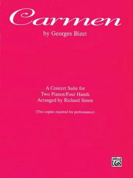 Carmen (A Concert Suite for Two Pianos/Four Hands) (AL-00-PA9603)