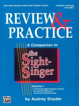 The Sight-Singer: Review & Practice for Two-Part Mixed/Three-Part Mixe (AL-00-SVB00117S)