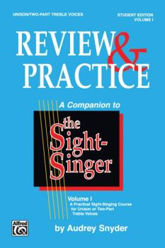 The Sight-Singer: Review & Practice for Unison/Two-Part Treble Voices  (AL-00-SVB00118S)