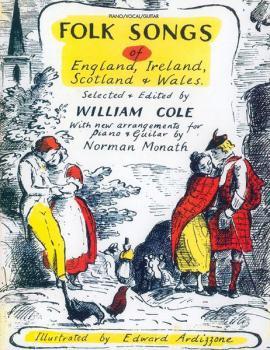 Folk Songs of England, Ireland, Scotland & Wales (AL-00-VF1880)