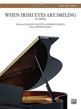 When Irish Eyes Are Smiling (Del Ed.) (AL-00-VS0418)