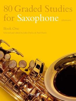 80 Graded Studies for Saxophone, Book 1 (AL-12-0571510477)